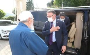Vali Dr. Ozan Balcı Almus'ta İncelemelerde Bulundu