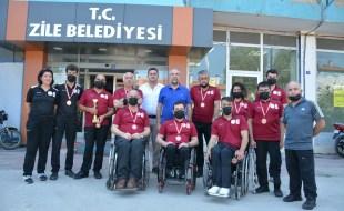 Başkan Sargın'dan engelli sporculara araç tahsis sözü