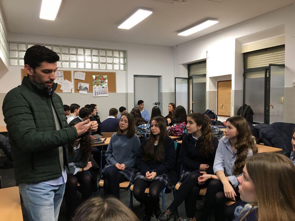 JORNADAS DE ORIENTACIN PROFESIONAL  Colegio Sagrada