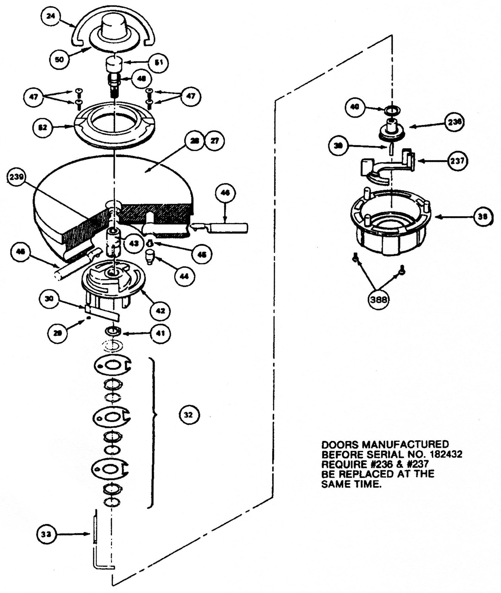 Amsec Star C Lift Out Round Door Repair Kit