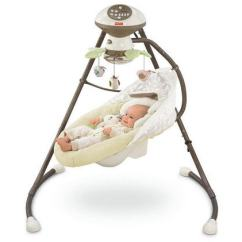 Baby Swing Vibrating Chair Combo Adirondack Design 12 Best Swings Reviewed Portable And Full Size Fisher Price Cradle N