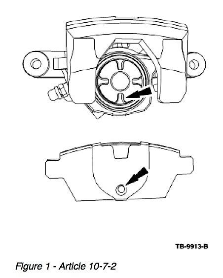 Tech Tip: Ford/Lincoln Rear Brake Drag Or Rear Brake Noise