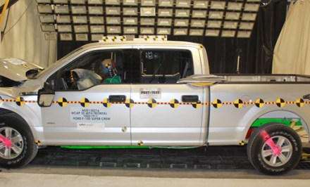Ford SuperCrew Pickup NHTSA Test