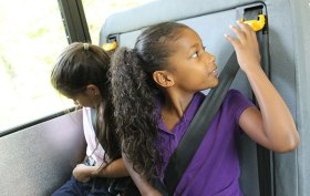 Seatbelts on school bus