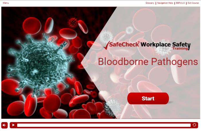 Bloodborne Pathogens - Start