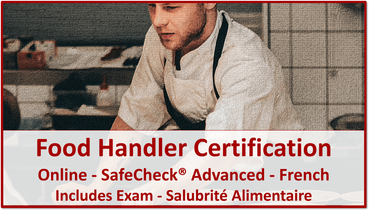 Food Handler Certification - French Language Course