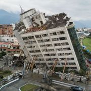 Safe design. Marshall Hotel, Taiwan earthquake.