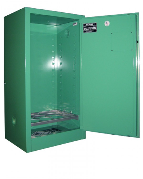 MG109FL Fire Lined Oxygen Cylinder Storage Cabinet for
