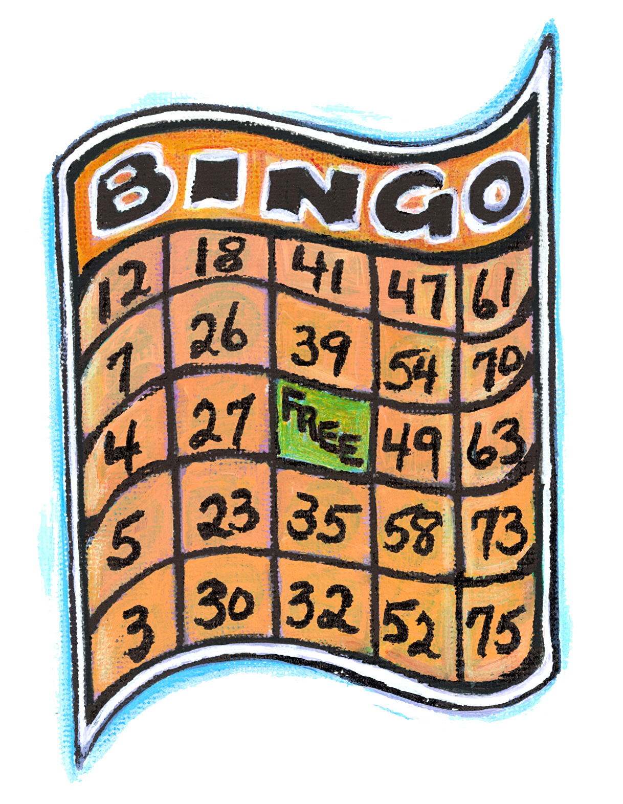 image about Fall Bingo Printable named bingo