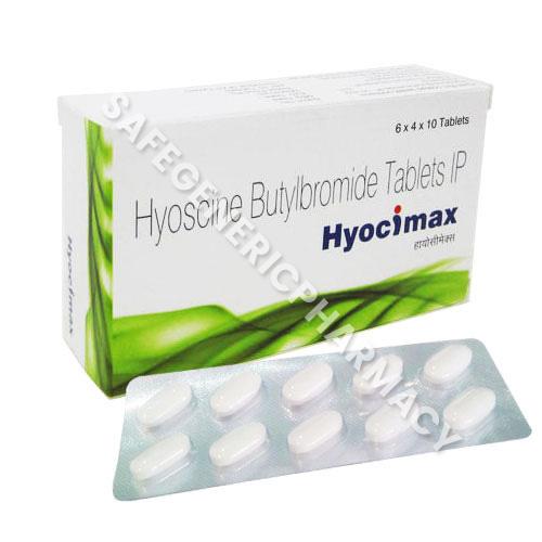 Buy Hyocimax 10mg Tablet Online At Low Price - SGP