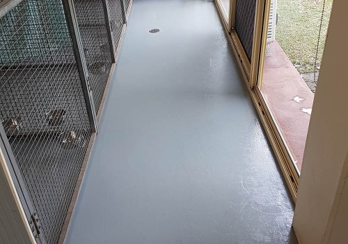 cat kennels commercial flooring 11