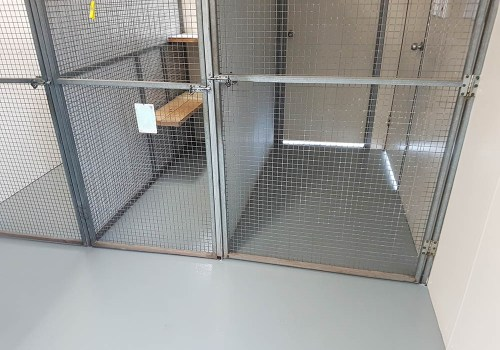 cat kennels commercial flooring 4