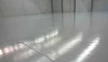 large warehouse flooring