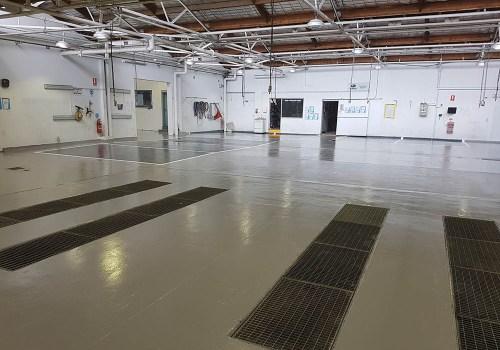 smash repair shop flooring 11
