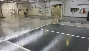 smash repair shop flooring 14