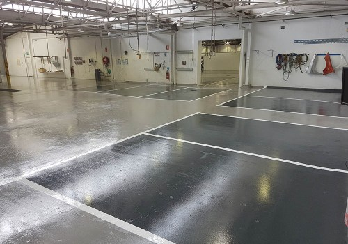 smash repair shop flooring 14