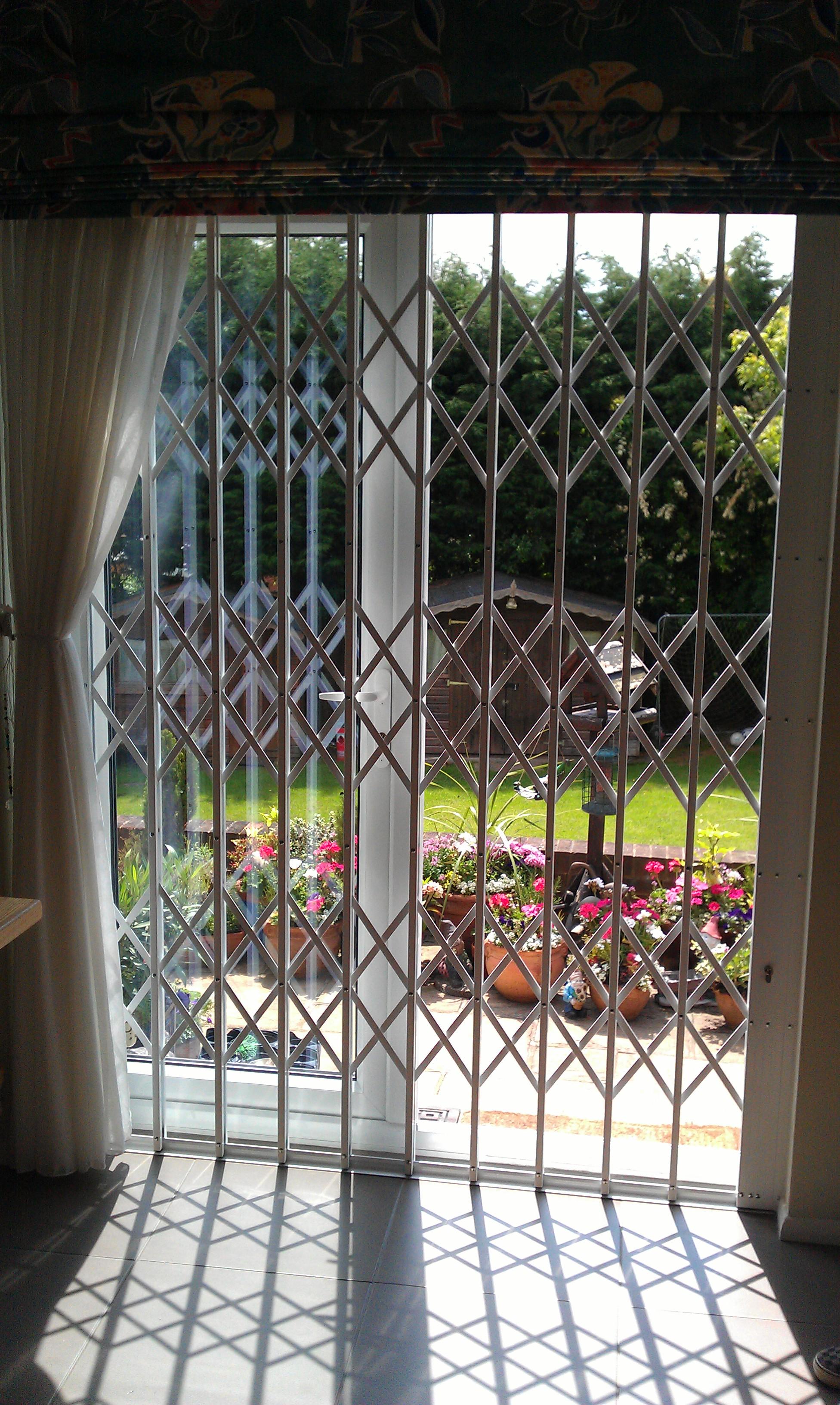 patio french doors safeguard security