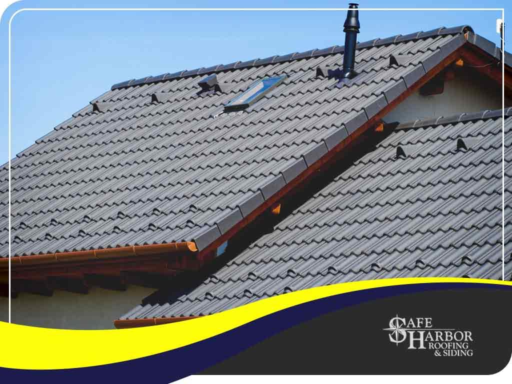 installing concrete tile roofing