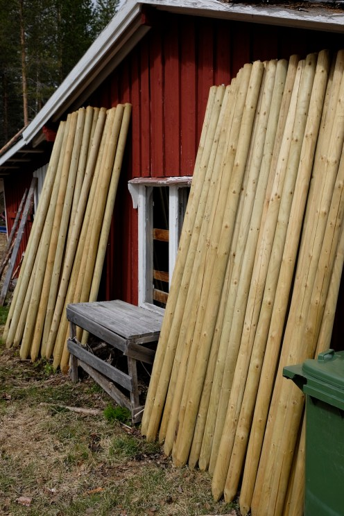 Lots of Fence Posts