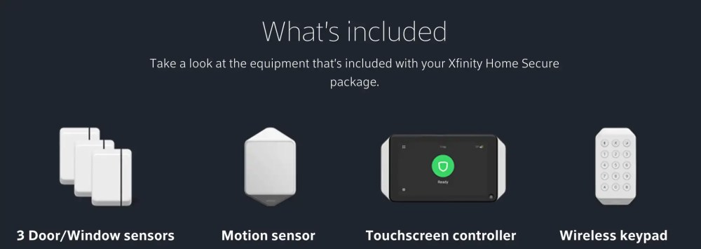medium resolution of xfinity comcast security included equipment
