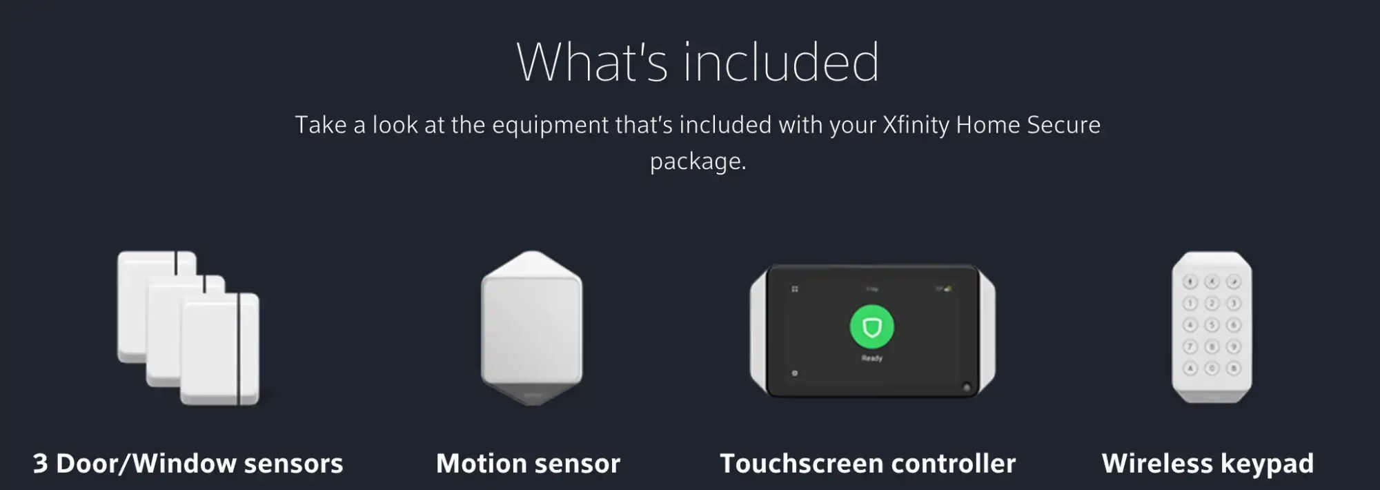 hight resolution of xfinity comcast security included equipment