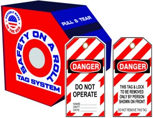 Safety on a Roll - Tags