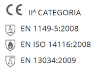 Pittogramma certificazioni 3 active_camicia
