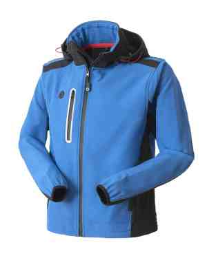 HH63806 GIUBBOTTO SOFTSHELL SMARTY AZZURRO ROYAL - ROSSINI TRADING by SAFEJOE