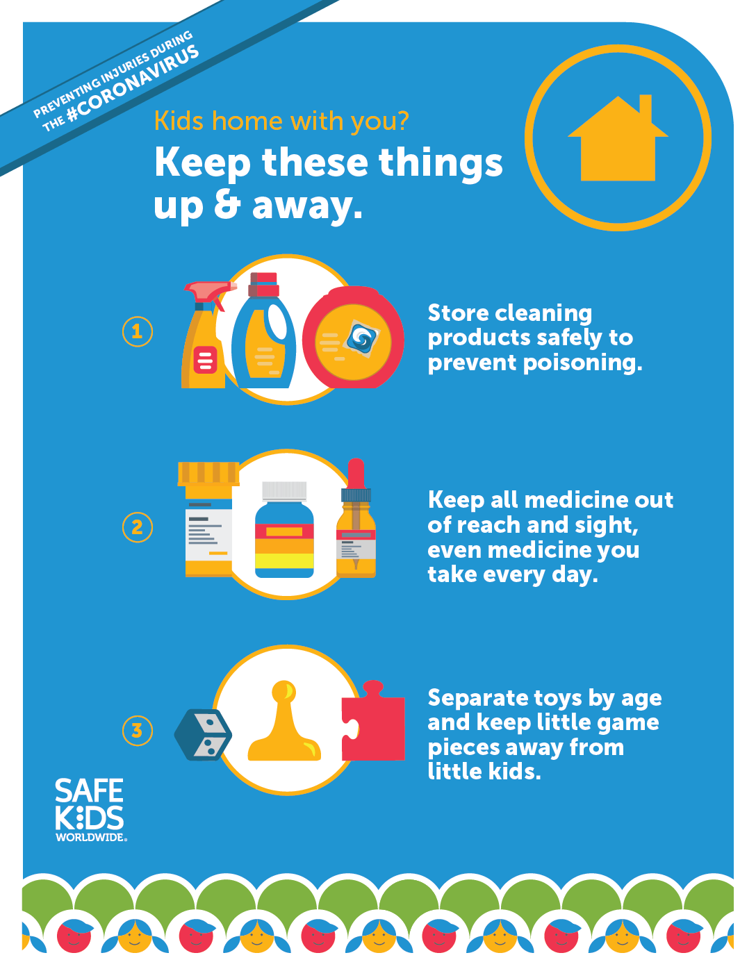 3 Safety Tips To Remember When Young Kids Are Home