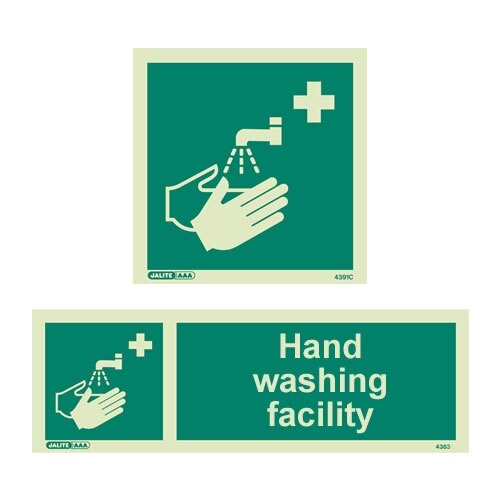 Hand Washing Facility Signs  From 339 ex VAT