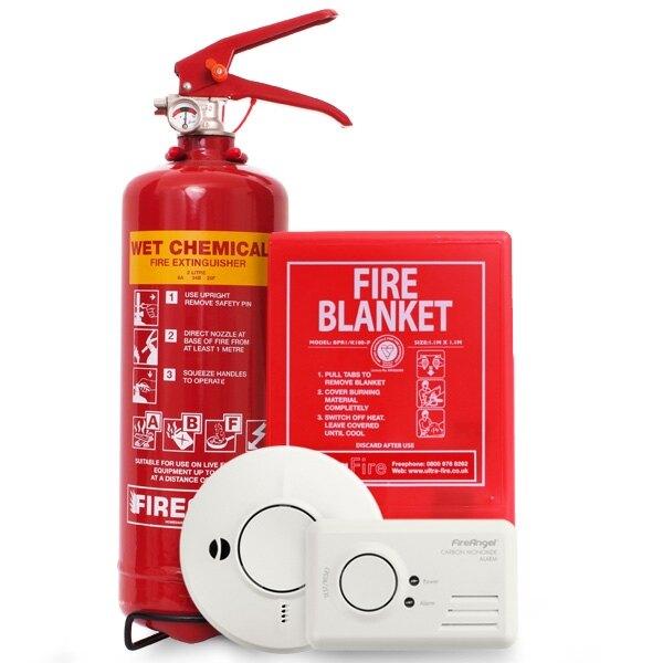 Safelincs Kitchen Fire Safety Kit  7319 inc VAT