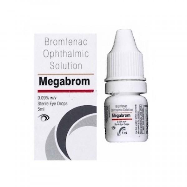 MEGABROM EYE DROPS 5ML Online Buy Generic Xibrom 0.09% ...