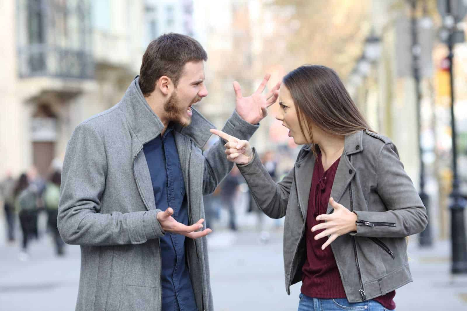 Anger Management Street Argument
