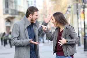 Anger Management Street Argument