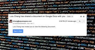 GOOGLE : Επίθεση phising στα Docs και το Gmail