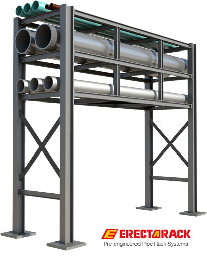 ErectaRack Pre-Engineered Modular Industrial Pipe Rack System
