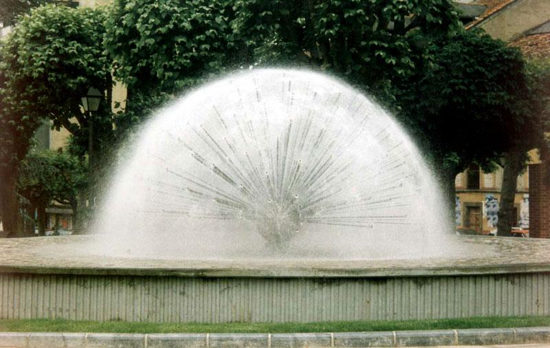 Semiesfera de agua