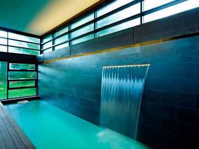 Arquitectura dia a dia Cascadas en interiores