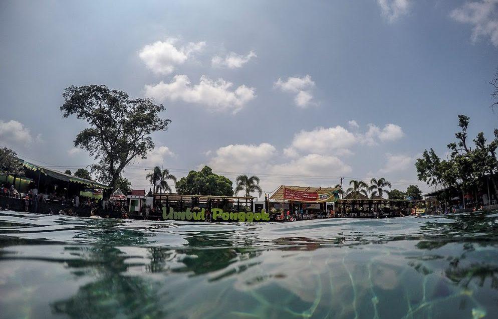 wisata air solo di umbul ponggok