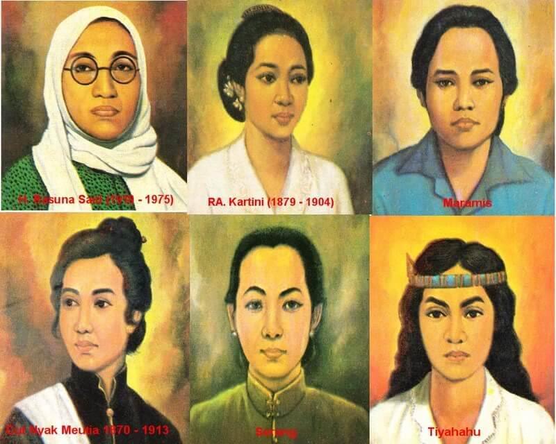 Para pahlawan wanita