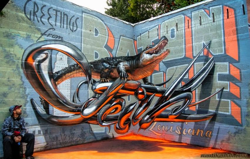 grafiti buaya