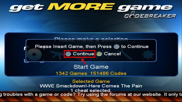 How To Use CodeBreaker On PCSX2