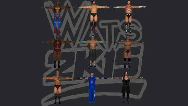 WWE 2K15 PS2 ISO