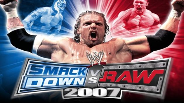 WWE SmackDown vs Raw 2007 PS2 ISO Highly Compressed