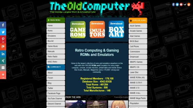 the old computer