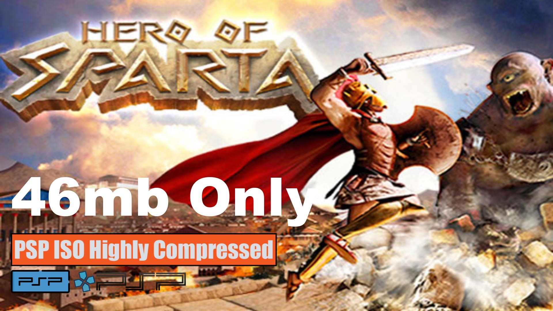 Hero of Sparta PSP ISO Highly Compressed
