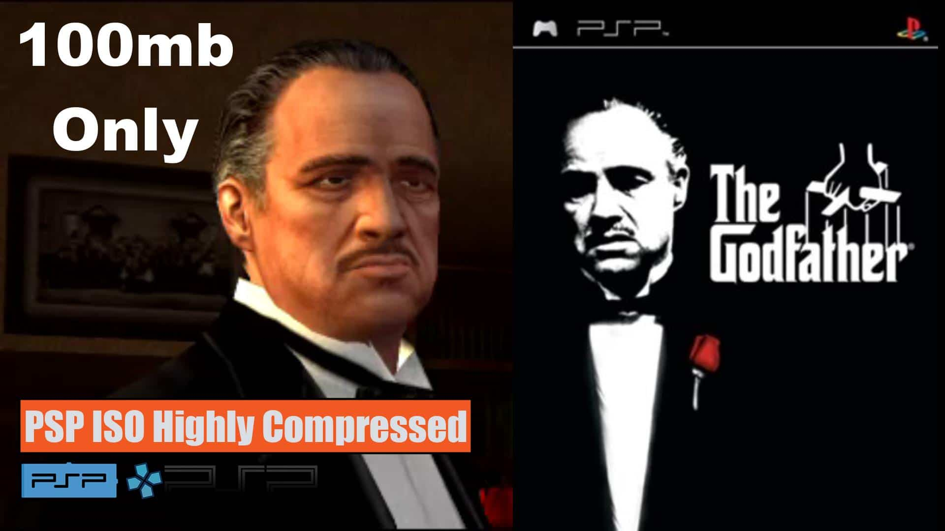 The God Father Mob Wars PSP ISO Highly Compressed