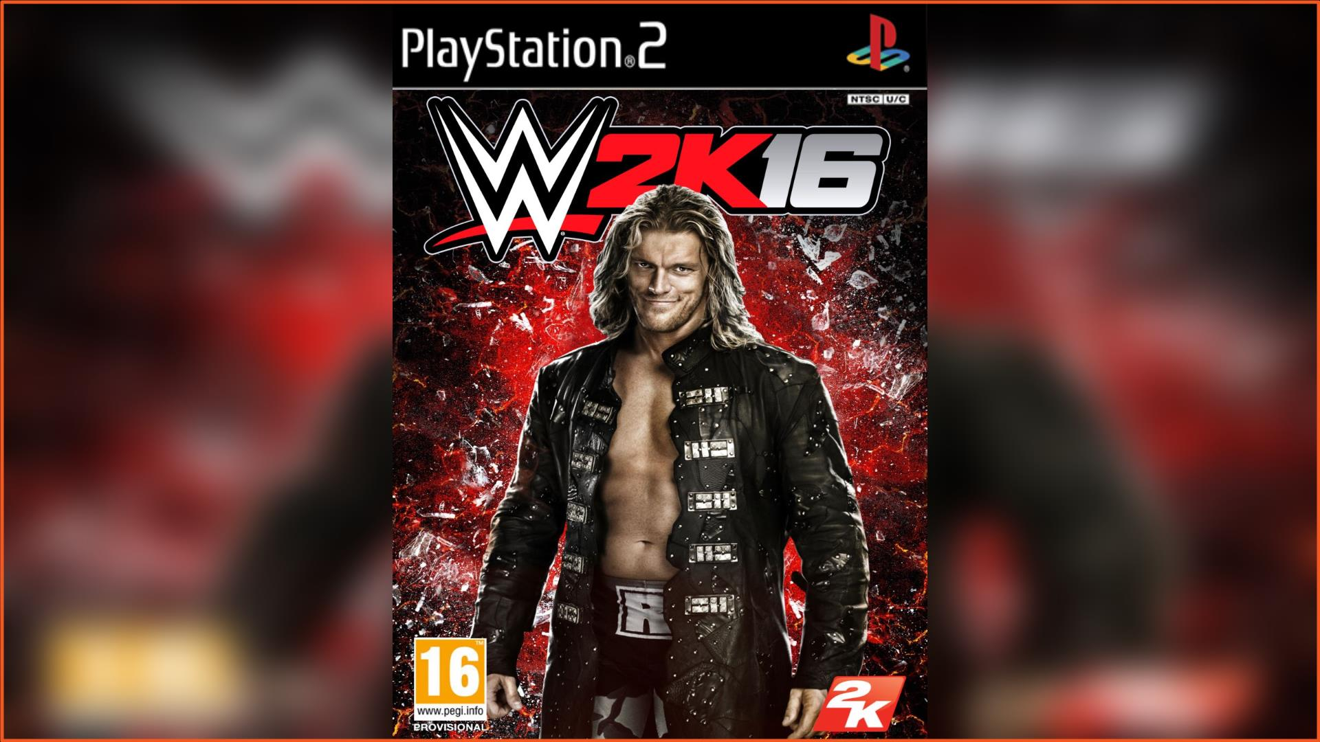 WWE 2K16 PS2 ISO Download