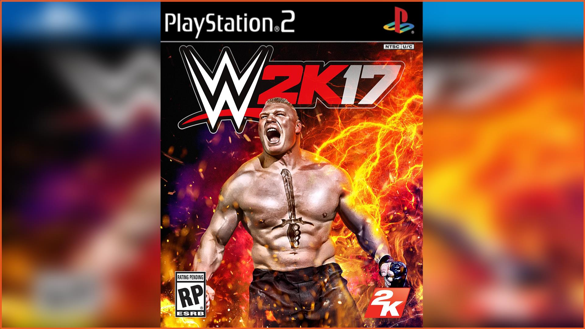 WWE 2K17 PS2 ISO Download