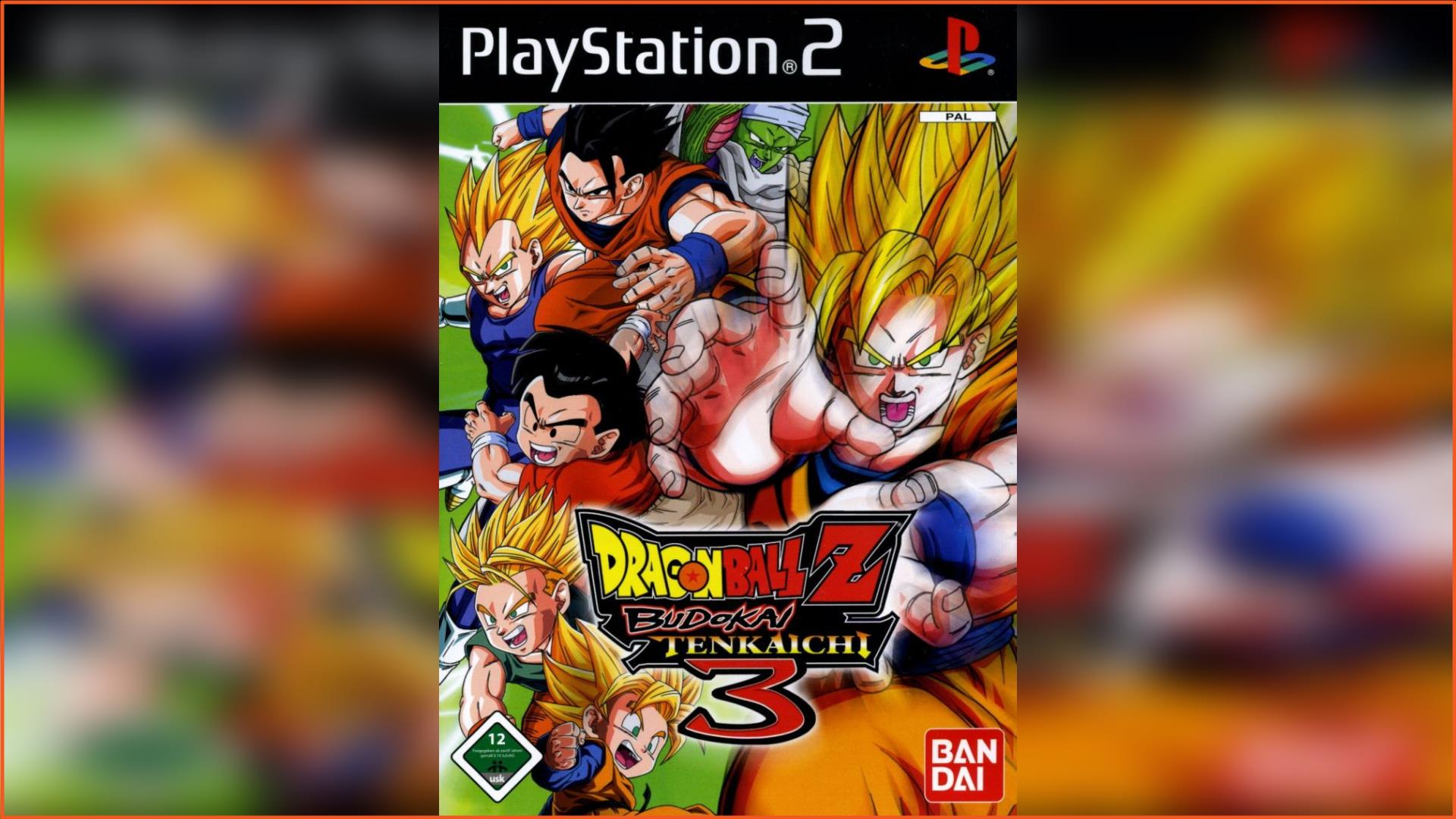 Dragon Ball Z Budokai Tenkaichi 3 PS2 ISO Download